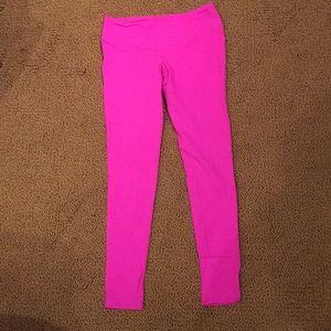 Hot Pink Splits59 crop leggings